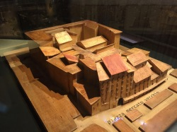 Florence's Jewish ghetto (model)
