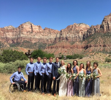 The Wedding Party, Zion National Park, Utah