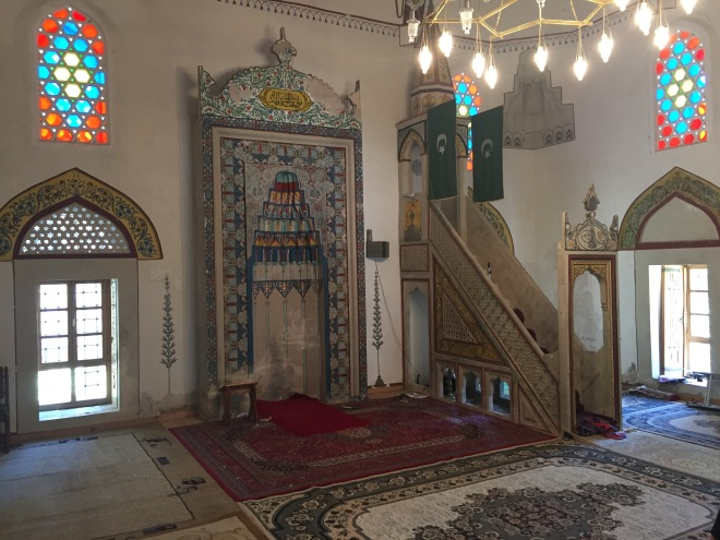 Mihrab & Minbar, Mostar Mosque