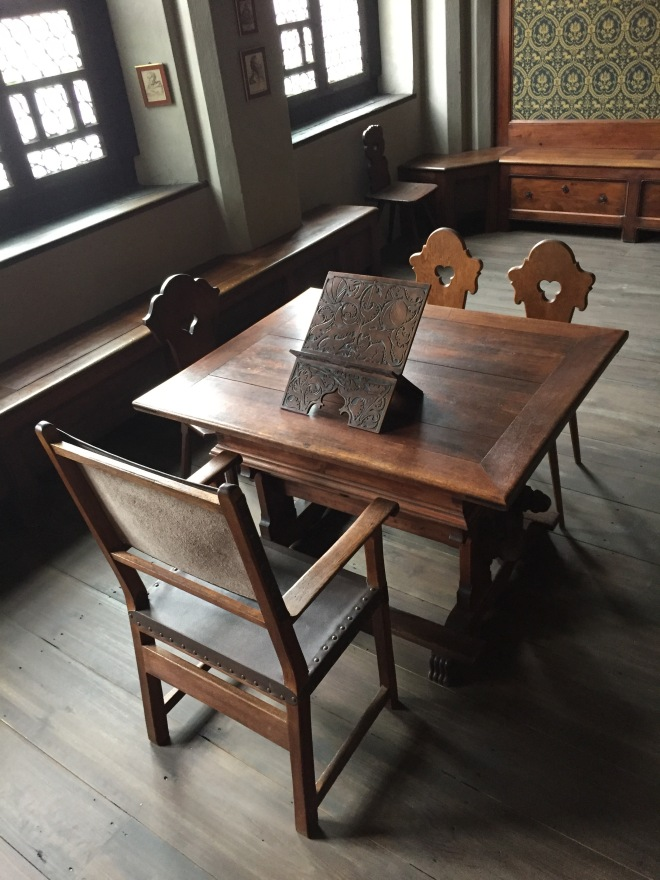 Melanchthon's tutorial desk