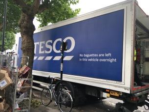 Tesco Security Message