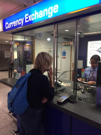 Pounds For Euros, Heathrow