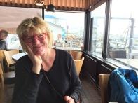 Last Overseas Breakfast in Great Reykjavik Harbor Diner: Kaffivagenen