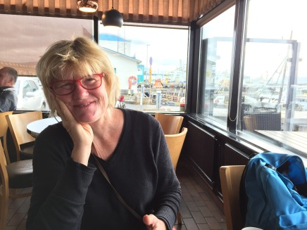 Last Overseas Breakfast in Great Reykjavik Harbor Diner: Kaffivagenen