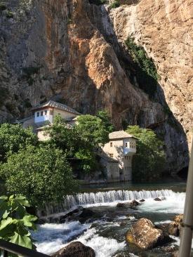 Dervish House, Source of Buna River from Mountain, Blagaj, Herzegovina