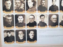Franciscans killed in Mostar, 1945
